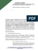Ação - Rescisão Contratual - Obrigação de Fazer - Danos Morais e Materiais - Tutela Antecipada - Telemar Norte Leste