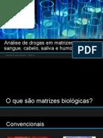 Seminário Amostras Biológicas