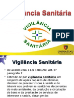 Aula 7 - Vigilancia Sanitária