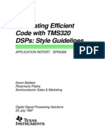 (eBook) (TMS) Generating Efficient Code With TMS320 DSP