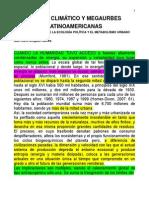Cambio Climaìtico y Megaurbes Latinoamericanas