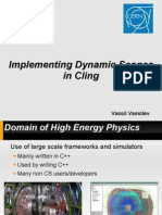 Implementing Dynamic Scopes in Cling