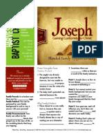 Joseph 4 Gen 37 Handout 102515