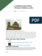 Las Diferencias Entre Thomas Hobbes y John Locke