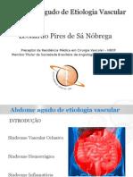 Abdome Agudo Vascular