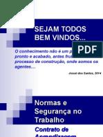 Aula1 - Normas e Segurança Do Trabalho - 2014 - Contrato Didático Pedagógico