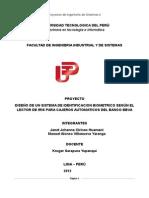 Ejemplo Proyecto Biometria