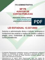 Mp Pb Lei Estad n 12337 2002 Mp Pb Audit de Conta Publi Intensivao Completo