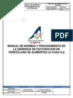Manual Final de Procedimietnos de Facturacion