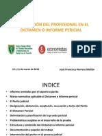 Intervencion Del Profesional en El Dictamen o Informe Pericial PDF