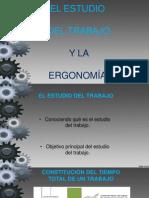 El Estudio Del Trabajo y La Ergonomia