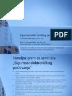 Sadržaj - Sigurnost Elektroničkog Poslovanja - Saša Aksentijević