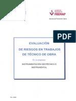 Evaluacion de Riesgos Tecnicos de Obra