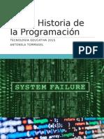 Historia de la Programación