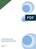 Informe Final SistematizacionD