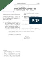 Dop - Legislacao Europeia - 2008/07 - Reg nº 723 - QUALI.PT