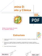 Vitamina D lab y clinica