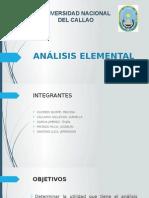 Analisis Elemental
