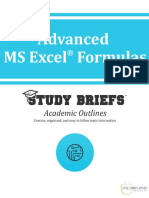 Advanced MS Excel Formulas - Little Green Apples Publishing