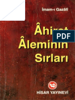 Imam Gazali - Ahiret Aleminin Sirlari_text