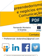 Empreendedorismo e Negócios em Comunicação