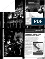 Chapter 32 - Geography the Early Development of Rome