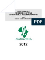 Antibiotic Recommendations Wc 2012
