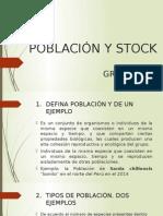 Población y Stock