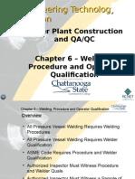Welding, Procedure and Operator Qualification (1)