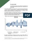 Bolivia Sector real a julio de 2015