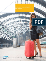 Sap Cloud for Travel and Expense an Easier Way to Travel