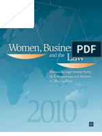 Women, Business and the Law 2010