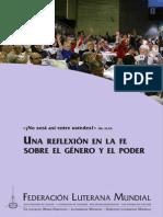 FLM Una Reflexion en La Fe Sobre El Genero y El Poder