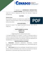 Sentencia Casación 565-2013 (Art. 621 Num. 1o.)