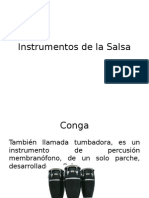 Instrumentos de La Salsa