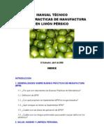 Manufactura limon Persico