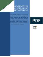 Manual de Atención de Conflictos en Instituciones Educativas Públicas