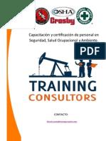 Portafolio de Servicios de Training Consultors
