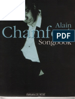 Alain Chamfort - Recueil de chansons