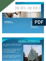 Bata company profile and repositioning
