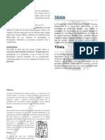 Permanganometria- misión y visión Quimica industrial FCQ UV