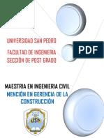 Maestria Ingenieria Civil I