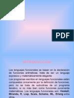 Los lenguajes funcionales