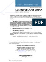 People's Republic of china - 2012
