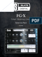 Slate Digital FG-X User Guide