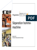 Module 5.04 - Séparation Homme-machine