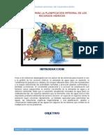 Estrategias de Planificacion y Desarrollo de Los Recurso Hidricos
