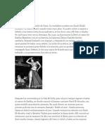 Bailarinas Famosas de Egipto