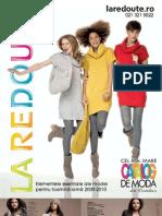 Brosura La Redoute Toamna-Iarna 2009-1