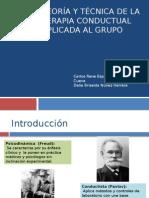 Teoria Y Tecnica de La Terapia Conductual Aplicada Al Grupo